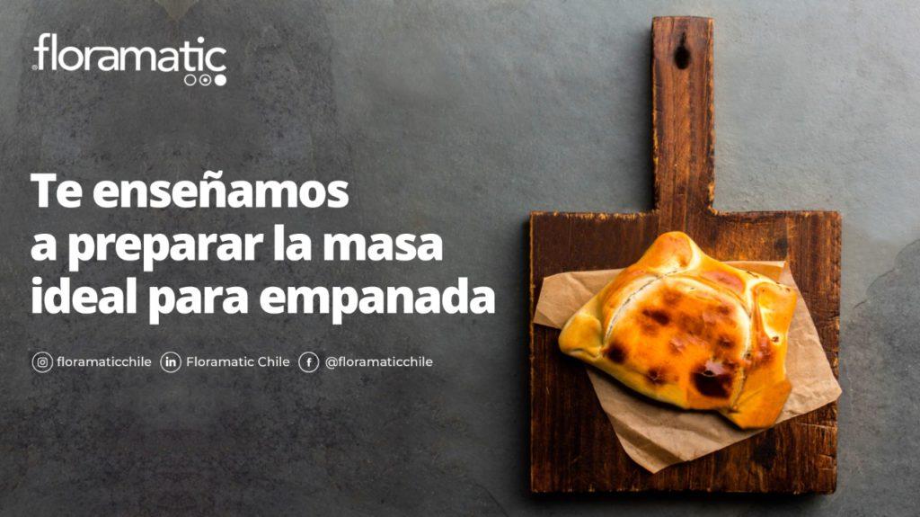 Prepara tu masa ideal para empanada